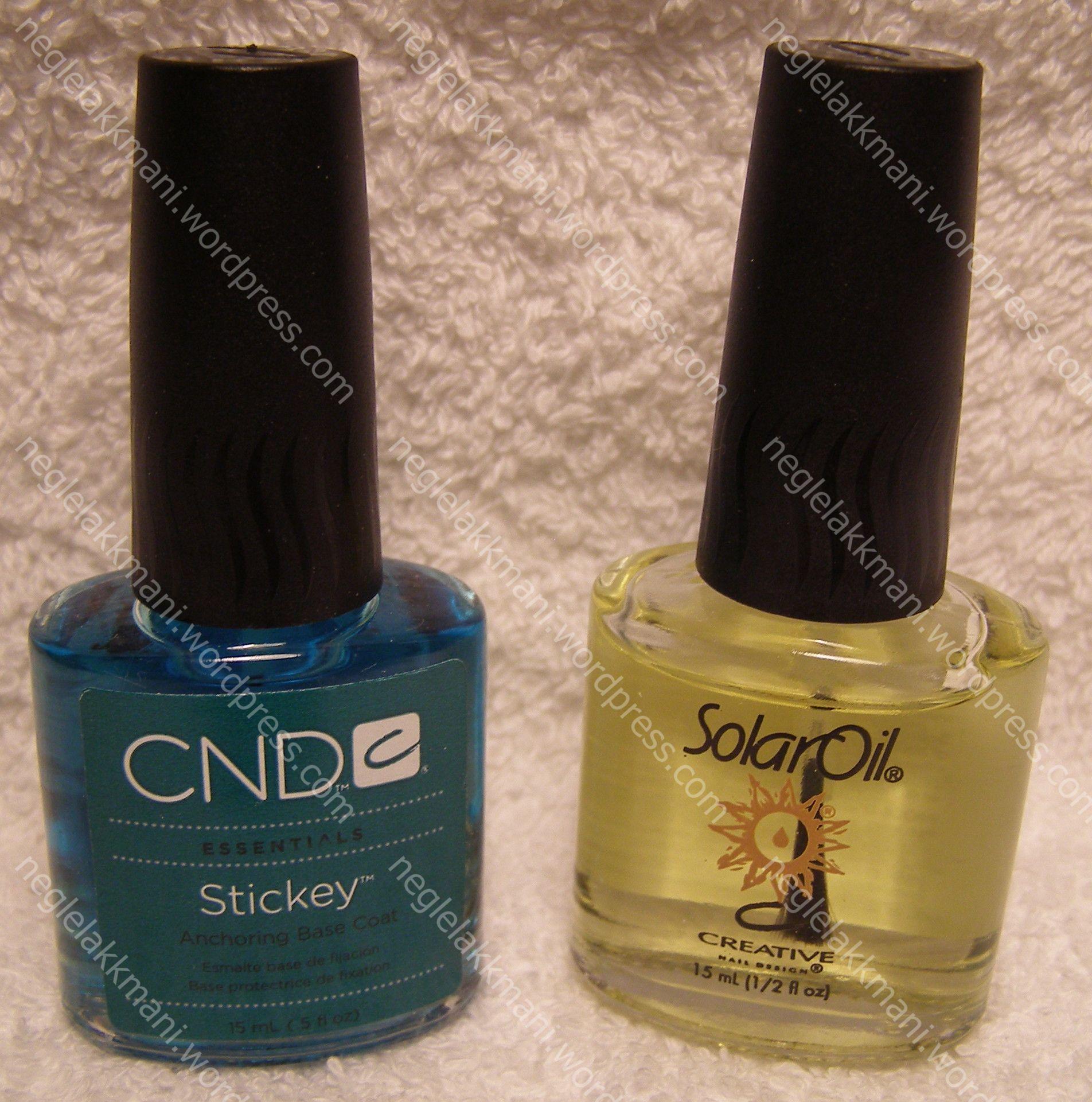 CND Stickey, Solar Oil