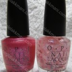 OPI I Pink I Love You & Be Mine, You're Fine