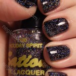 NOTD China Glaze Liquid Leather og Sation Holiday Spirit