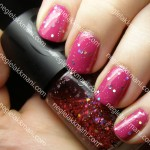 NOTD China Glaze Nasty & Make Up Store Asun
