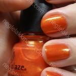NOTD China Glaze Orange Marmalade