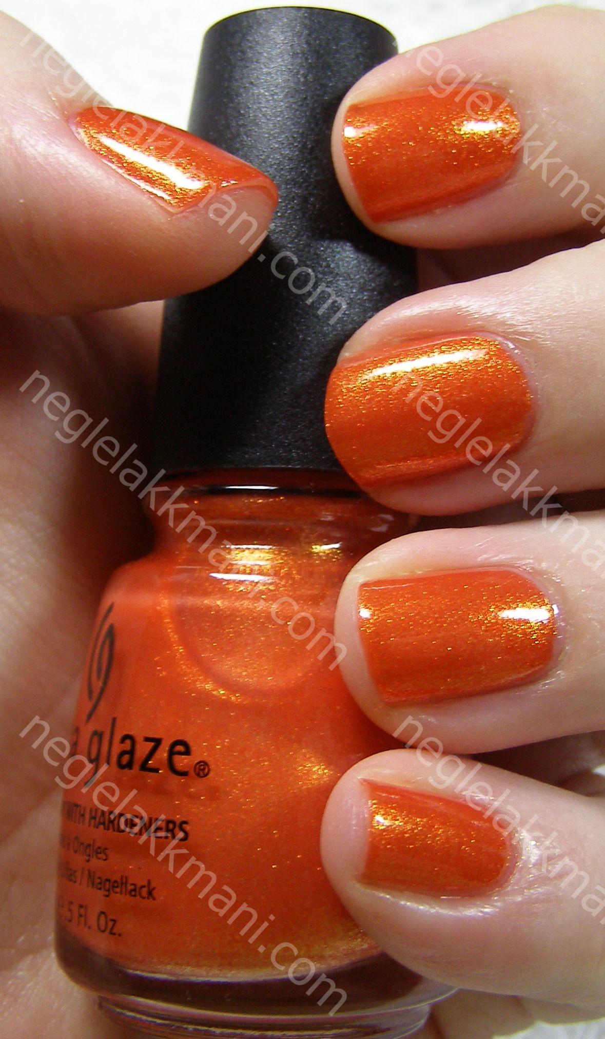 China Glaze Orange Marmalade