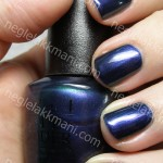 OPI Glacier Bay Blues under OTT-Lite lampe