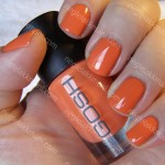 NOTD GOSH Peachy & Maybelline Surprise Bouquet