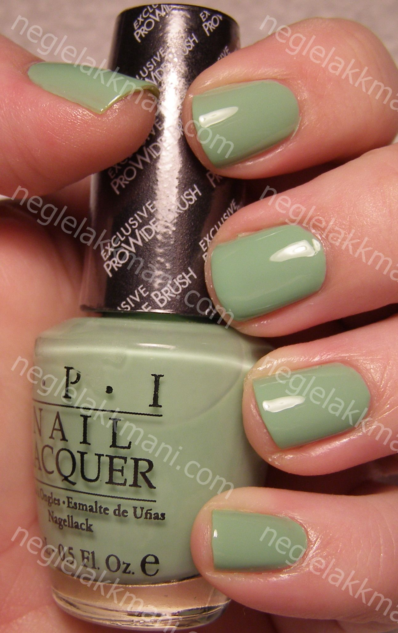 OPI Hey! Get In Lime!