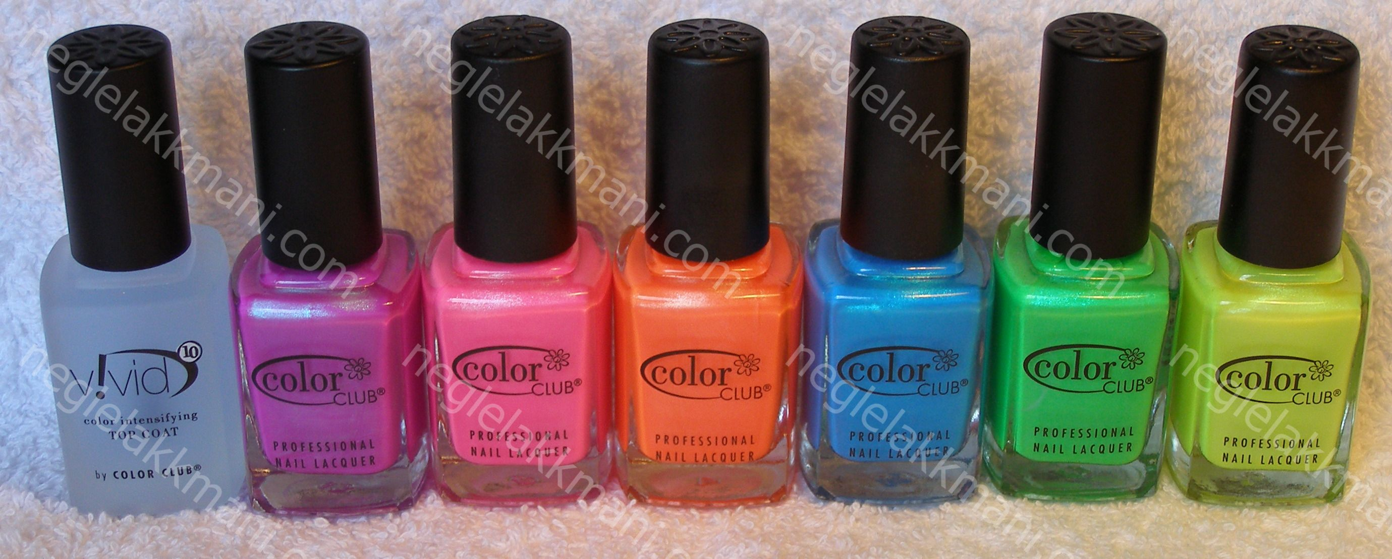 Color Club Neons 20091