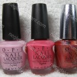 L-R: Isn't It Romantic?, I Pink I Love You,Feelin Hot-Hot-Hot!, DS ruby & Bronzed To Perfection