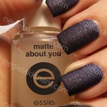 NOTD Essie Starry Starry Night & Essie Matte About You
