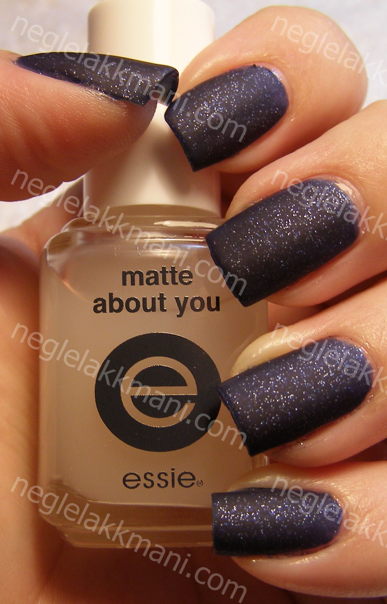 Essie Starry Starry Night & Essie Matte About You