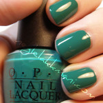 NOTD OPI Jade Is The New Black