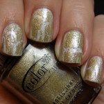Color Club Tattered In Gold & IsaDora Glamour White