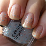 Deborah Lippmann Glitter In The Air & OPI Stranger Tides vs. Illamasqua MILF