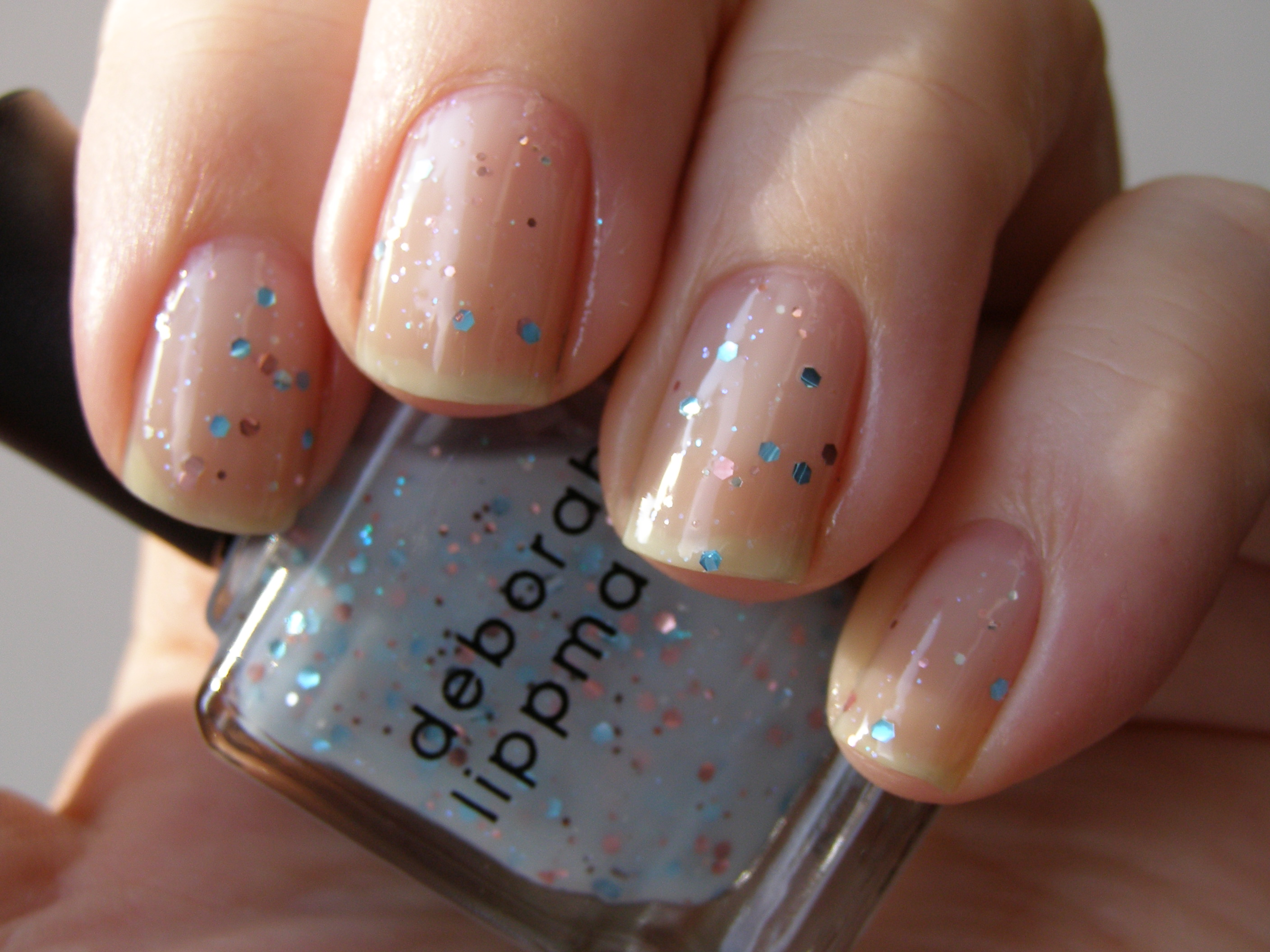 Neglelakkmani « Deborah Lippmann Glitter In The Air & OPI Stranger ...