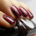 Lynnderella Very Pretty Vampire over OPI Dim Sum Plum