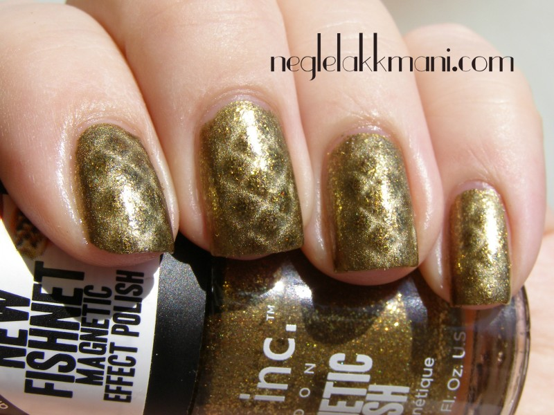Nails Inc Magnetic Fishnet Piccadilly