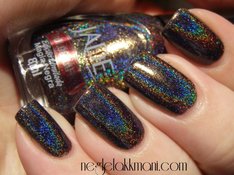 Jade Holographic Nail Polish images