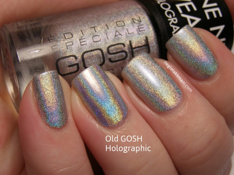 GOSH Hero vs Gosh Holographic original