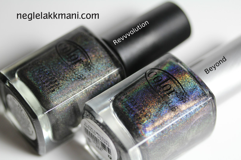 Color Club Revvvolution vs. Beyond