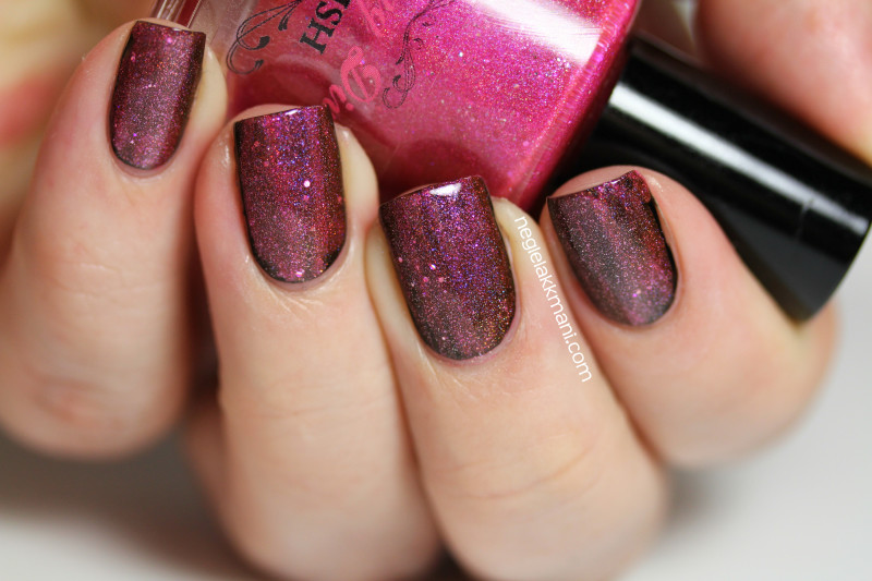 Darling Diva Polish BJ over Black