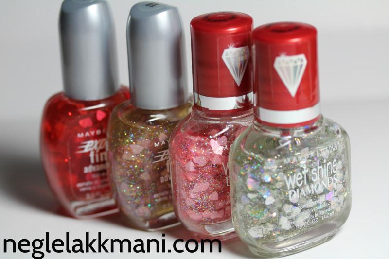 Maybelline glitter hearts
