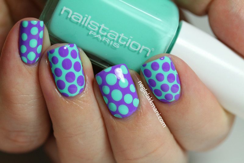 Nailstation Juicy Gossip & Sation Tardy Tart