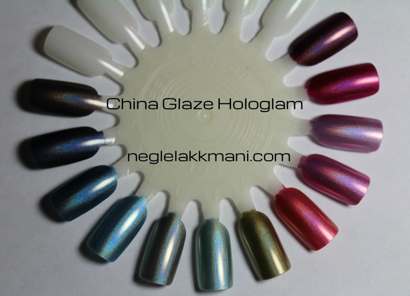 China Glaze Hologlam