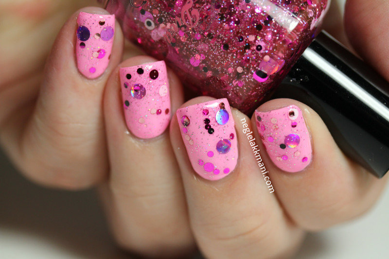 Darling Diva Polish Call The Doctor & Lime Crime Parfait Day
