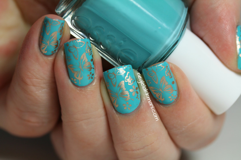 Essie In The Cab-ana & PUEEN 39