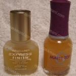 Maybelline Matte Maker Top Coat vs. Orly Matte Top Coat