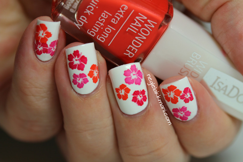 Hibiscus  Nails