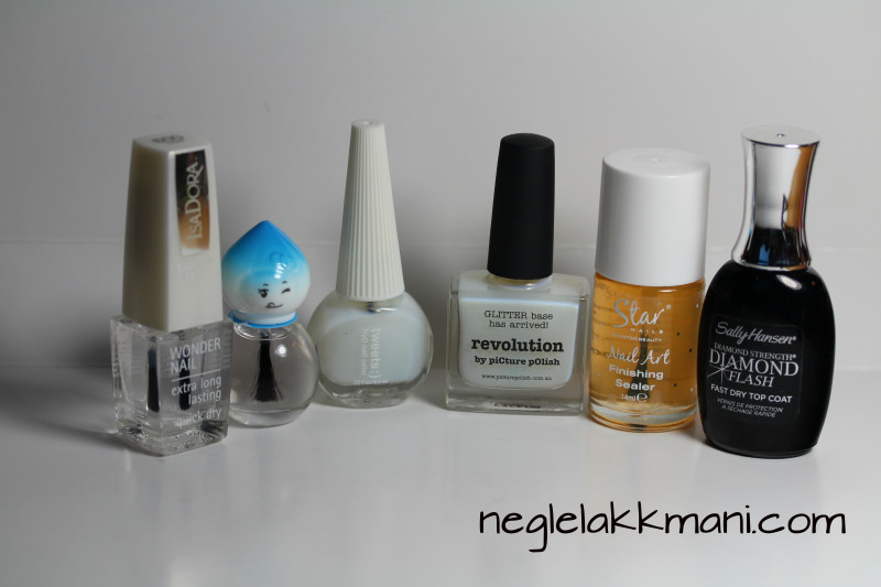 Top coats for foils