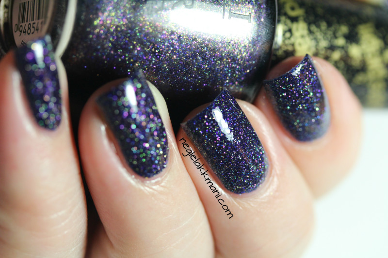 OPI Alcatraz... Rocks with top coat