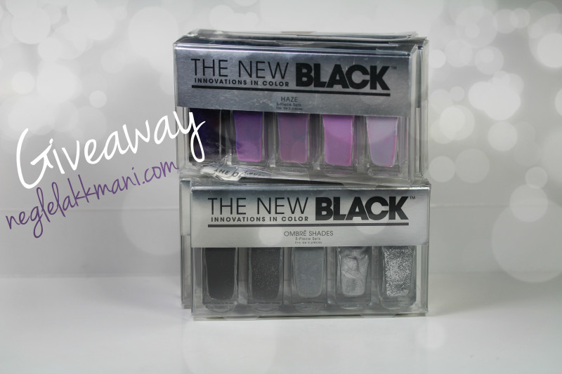 The New Black Giveaway