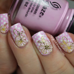 Polka Dots & Flowers!
