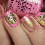 OPI Flamingo Tini Pink, Stamping & Stickers