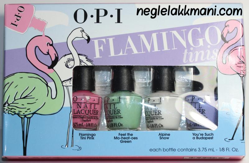 OPI Flamingo Tinis