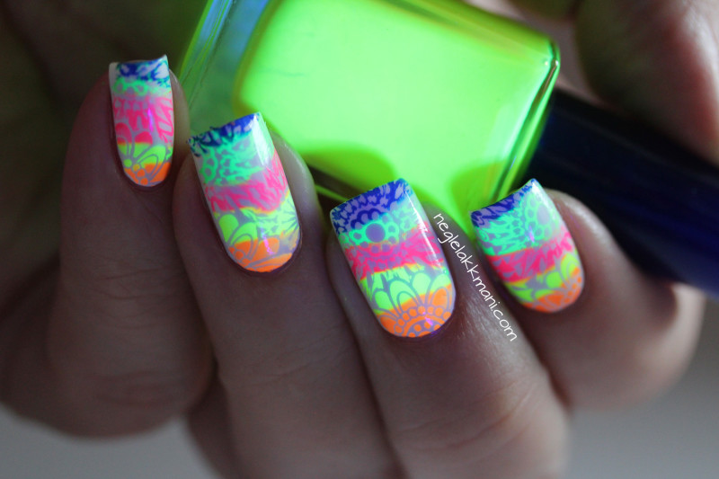 Neon stamping